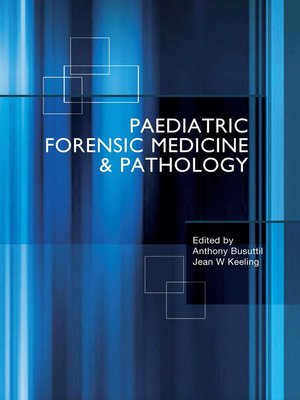 cover image of Paediatric Forensic Medicine and Pathology