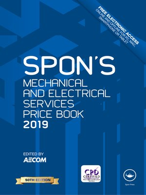 cover image of Spon's Mechanical and Electrical Services Price Book 2019