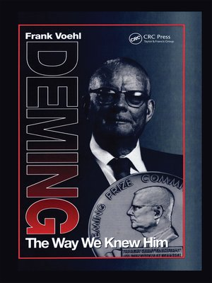 cover image of Deming the Way We Knew Him