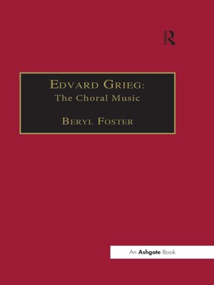 cover image of Edvard Grieg