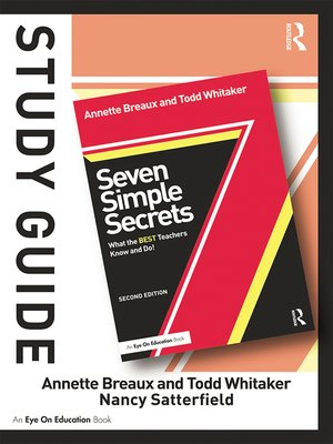 cover image of Study Guide, Seven Simple Secrets