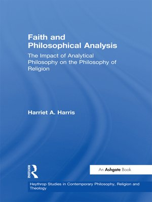 cover image of Faith and Philosophical Analysis