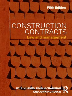 cover image of Construction Contracts