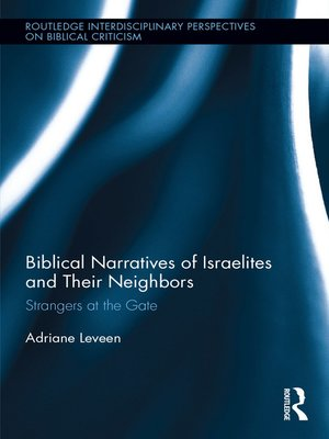 cover image of Biblical Narratives of Israelites and their Neighbors