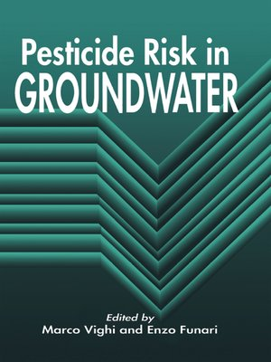 cover image of Pesticide Risk in Groundwater