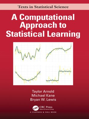 cover image of A Computational Approach to Statistical Learning