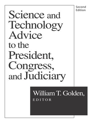 cover image of Science and Technology Advice