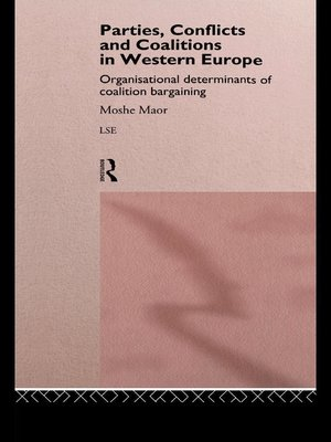 cover image of Parties, Conflicts and Coalitions in Western Europe