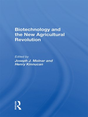 cover image of Biotechnology and the New Agricultural Revolution