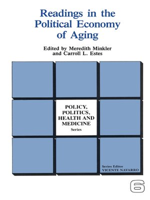 cover image of Readings in the Political Economy of Aging