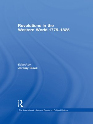 cover image of Revolutions in the Western World 1775–1825