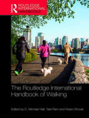 cover image of The Routledge International Handbook of Walking