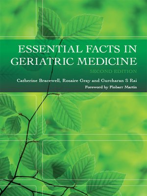 cover image of Essential Facts in Geriatric Medicine