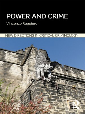 cover image of Power and Crime