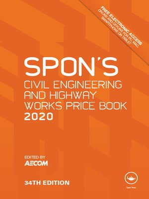 cover image of Spon's Civil Engineering and Highway Works Price Book 2020