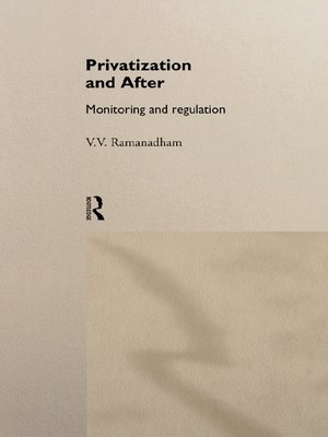 cover image of Privatization and After