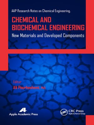 cover image of Chemical and Biochemical Engineering
