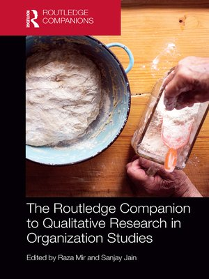 cover image of The Routledge Companion to Qualitative Research in Organization Studies