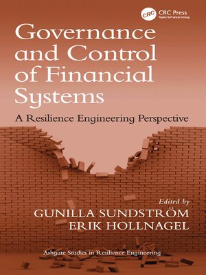 cover image of Governance and Control of Financial Systems