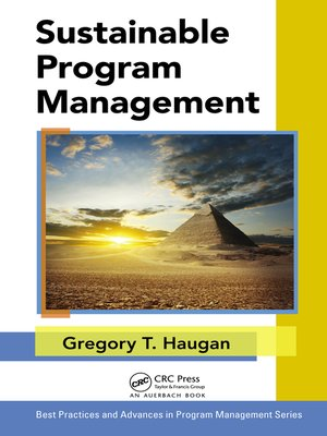 cover image of Sustainable Program Management