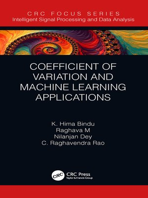 cover image of Coefficient of Variation and Machine Learning Applications