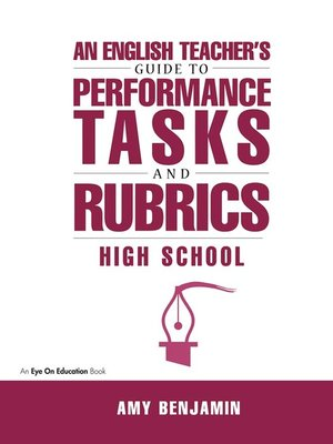 cover image of English Teacher's Guide to Performance Tasks and Rubrics