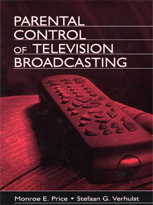 cover image of Parental Control of Television Broadcasting