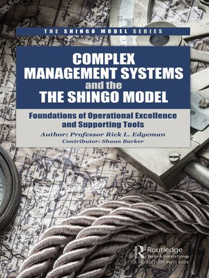 cover image of Complex Management Systems and the Shingo Model