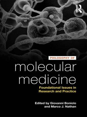 cover image of Philosophy of Molecular Medicine