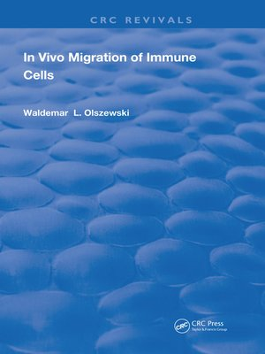 cover image of In Vivo Migration of Immune Cells
