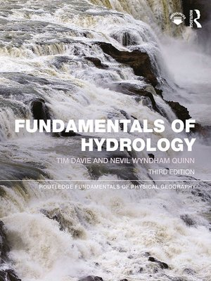 cover image of Fundamentals of Hydrology