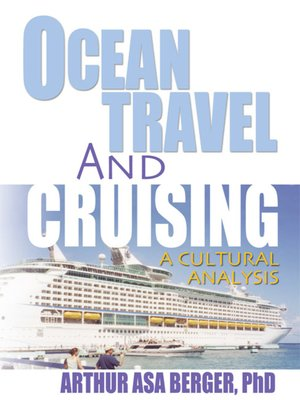 cover image of Ocean Travel and Cruising