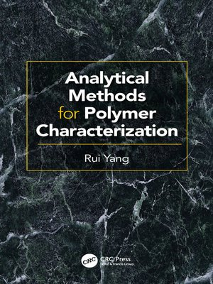 cover image of Analytical Methods for Polymer Characterization