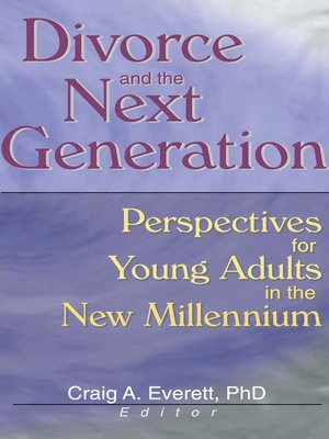 cover image of Divorce and the Next Generation