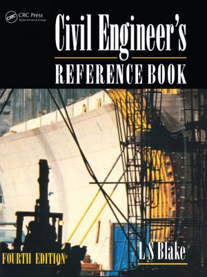 cover image of Civil Engineer's Reference Book