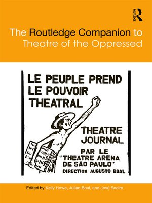 cover image of The Routledge Companion to Theatre of the Oppressed