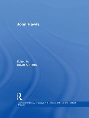 cover image of John Rawls