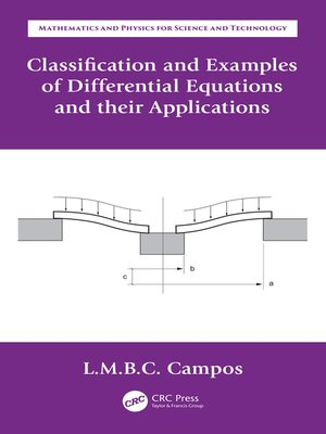 cover image of Classification and Examples of Differential Equations and their Applications