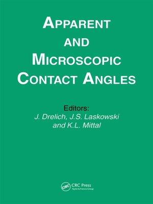 cover image of Apparent and Microscopic Contact Angles