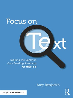 cover image of Focus on Text