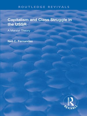 cover image of Capitalism and Class Struggle in the USSR