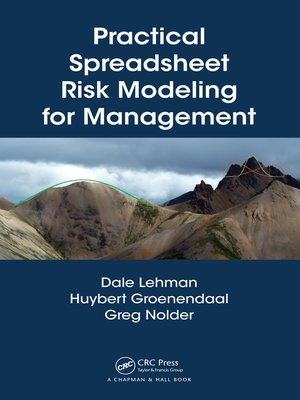 cover image of Practical Spreadsheet Risk Modeling for Management