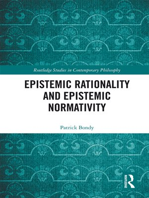 cover image of Epistemic Rationality and Epistemic Normativity