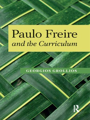 cover image of Paulo Freire and the Curriculum