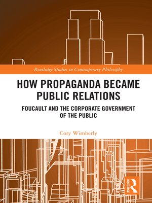 cover image of How Propaganda Became Public Relations