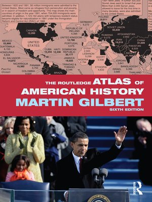 cover image of The Routledge Atlas of American History