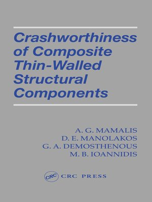 cover image of Crashworthiness of Composite Thin-Walled Structures