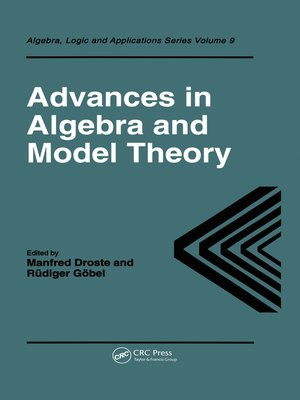 cover image of Advances in Algebra and Model Theory