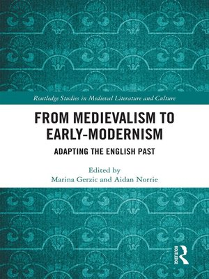 cover image of From Medievalism to Early-Modernism
