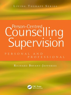 cover image of Person-Centred Counselling Supervision